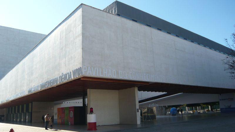 Le grand auditorium de lisbonne pavilhao atlantico 1998 regino cruz et som london