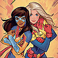 Panini 100% ms marvel team-up