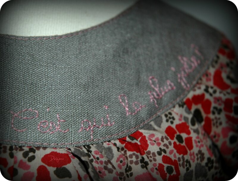 Blouse 4 ans broderie