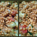 Salade de lentilles à l'aneth