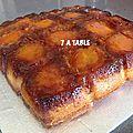 Moelleux aux abricots ou fruits