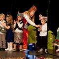 Младшая группа на новогоднем празднике.Январь 2014 года.