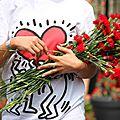 Coeur, fleurs (Clignancourt danse sur les rails)_9793