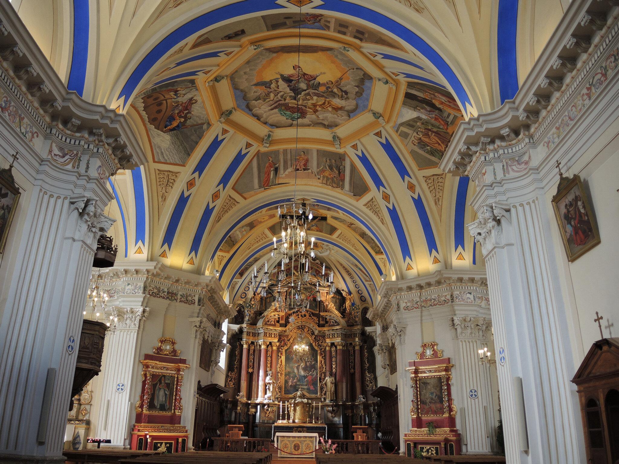 Saint-Nicolas-de-Véroce, église, intérieur (74)