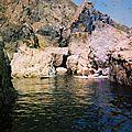 entrée de grotte, jobourg