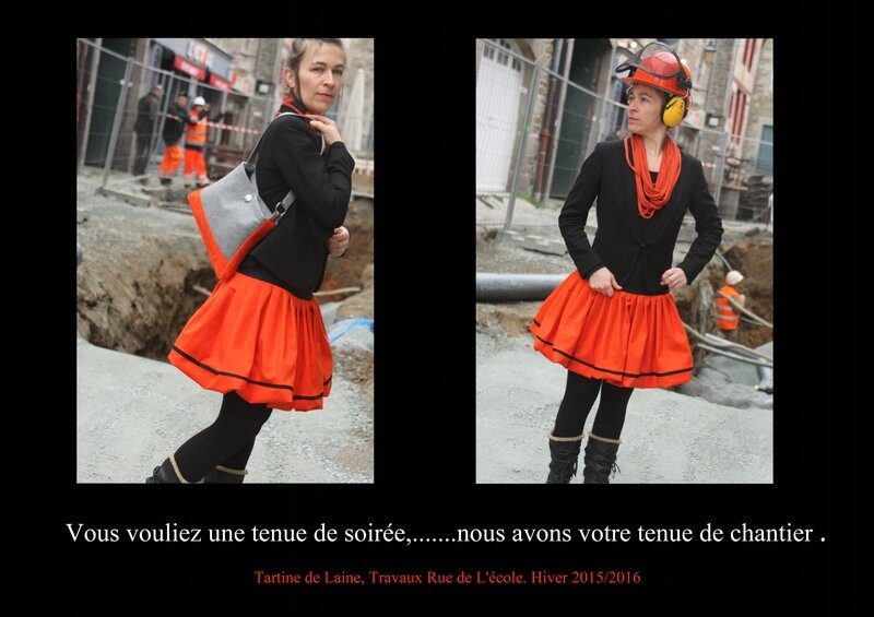 Tenue de Chantier orange1