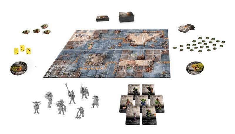 Boutique jeux de société - Pontivy - morbihan - ludis factory - Gobzheroes matériel