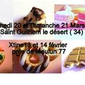 Stages gourmandises