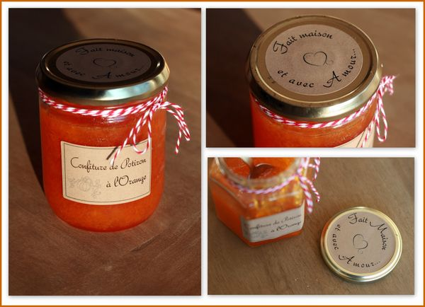 Pot confiture customisé