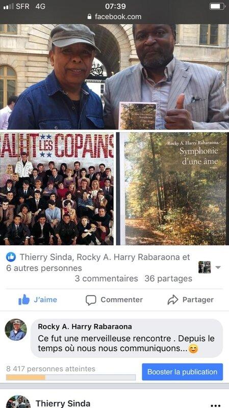 Rocky Harry Rabaraona +Thierry Sinda poèmes