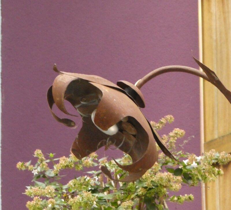 fleur rouille violette Trentemoult