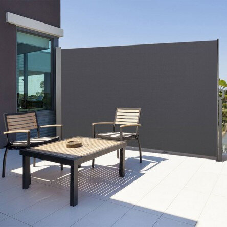 paravent-exterieur-retractable-300x180cm-gris-anthracite-store-vertical