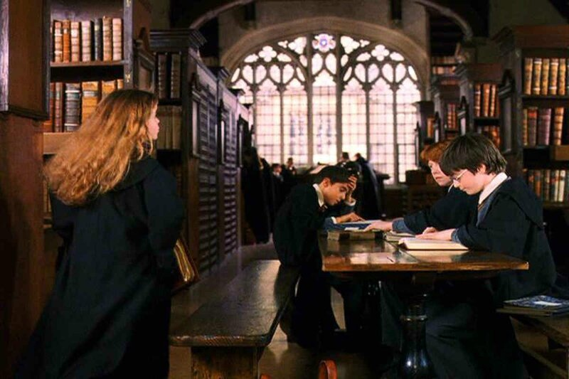 La bibliothèque dans Harry Potter, Bodleian Library Oxford