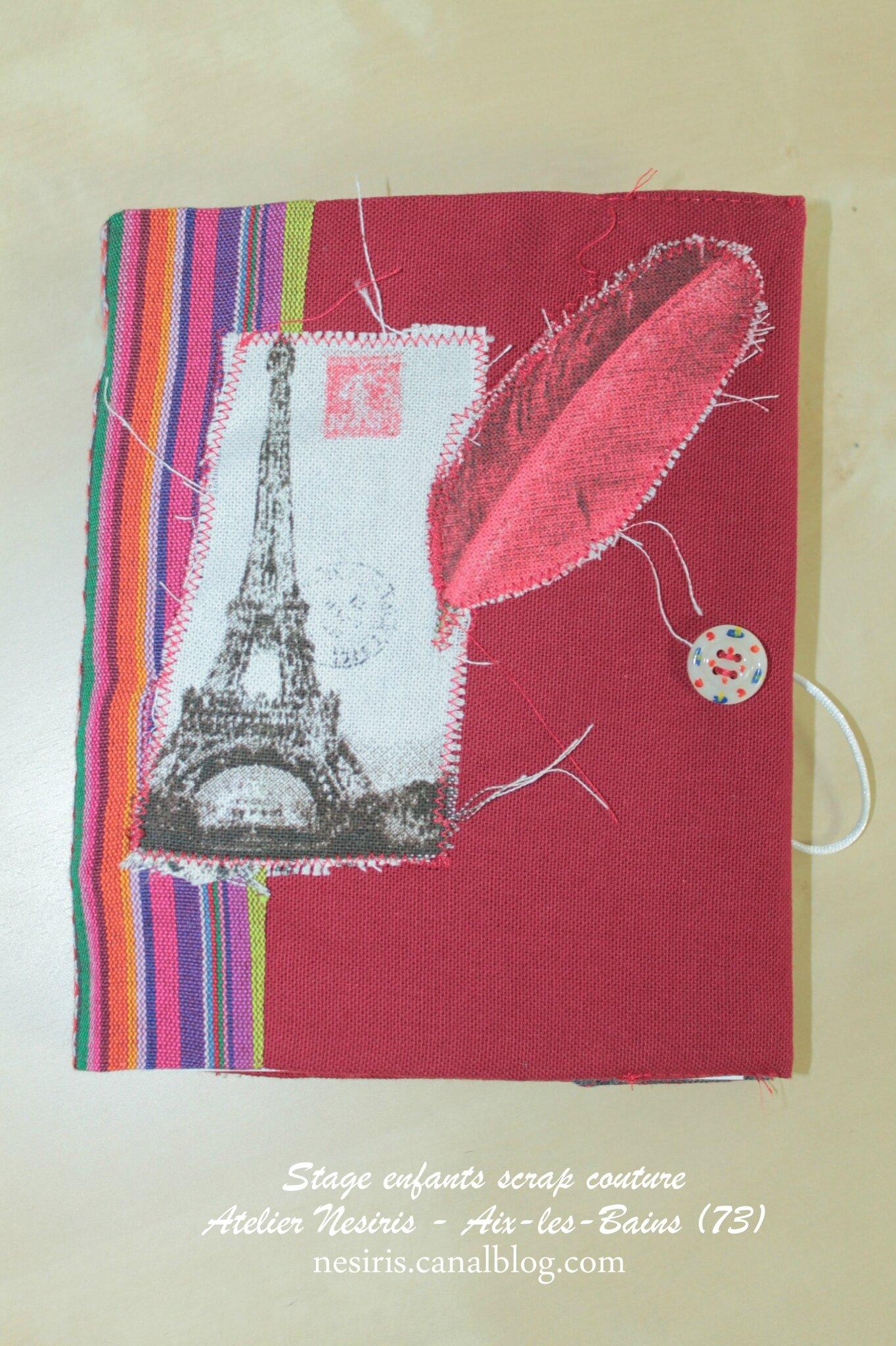Stage enfants scrapbooking couture - atelier nesiris - aix-les-bains22