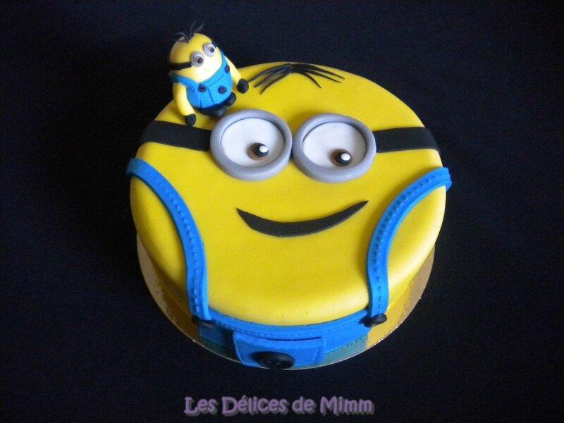 Gâteau Minion 8