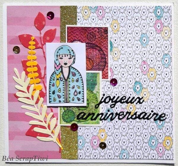 Défi 2 Chou&Flowers Fb - Juillet 2019