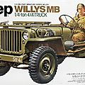 1/35 jeep willys mb partie 1