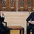 Algérie syriefrance: lakhdar brahimi : »assad est un homme rationnel et il n'est pas suicidaire »
