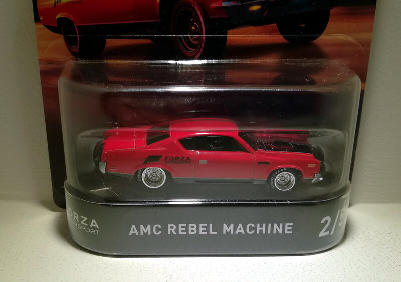 Amc Rebel Machine (Hotwheels) 02