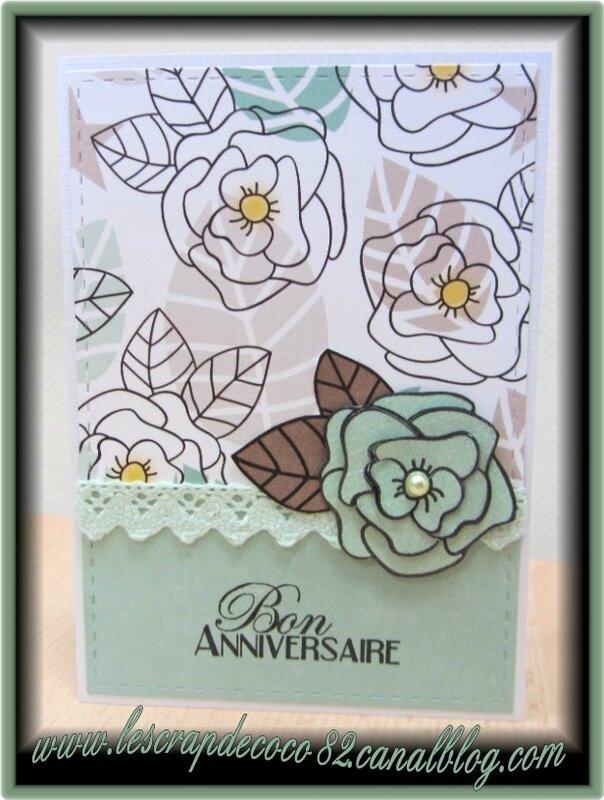 Carte Joyeux Anniversaire Pour Jocelyne Le Scrap De Coco82