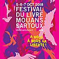 Festival du livre de mouans-sartoux - édition 2018