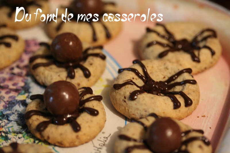 Spider cookies1