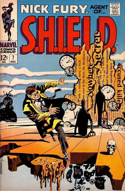 nick fury agent of shield 1968 07