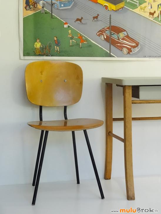 CHAISE-ENFANT-PIEDS-METAL-Bureau-Baumann-1-muluBrok-Vintage