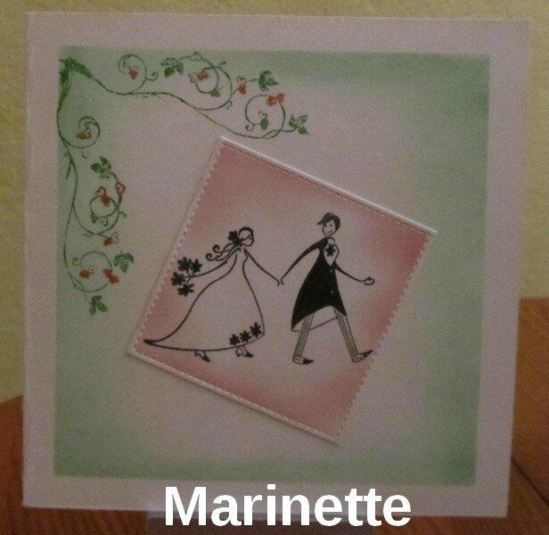 pour mariage