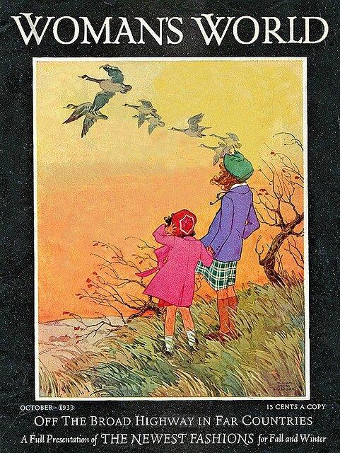 autumn cover magazine