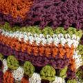 Mon écharpe aux couleurs d'automne avance...