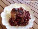 red beans and Louisiana