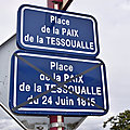La place de la paix de la tessoualle a perdu sa date de 1815
