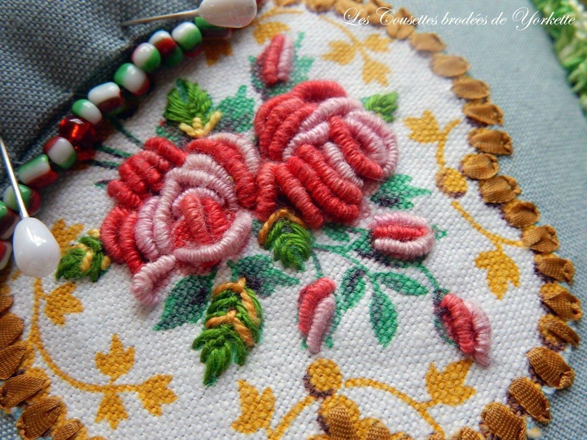 Pique Epingles aux Roses FACILE CECILE (4)