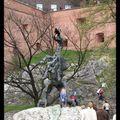 Krak - le dragon qui se trouve au bas du château de Wawel