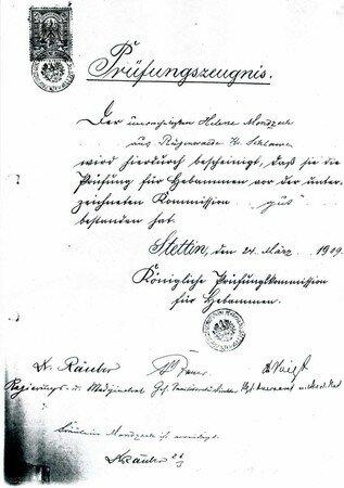 Hebammen_Zeugnis_1909