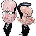 La lutte contre la corruption selon françois hollande et michel guidoni parodie sarkozy...