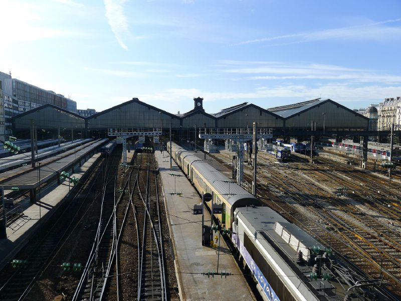 Gare Saint-Lazare Les voies