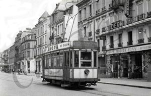 CPA Tramway 1951