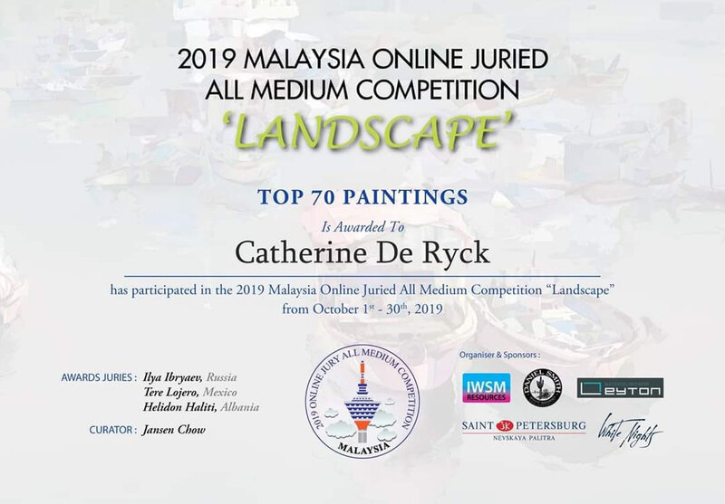 Malaysia online juried all medium competition