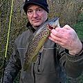 Où l'auteur a fait son premier poisson de la saison !