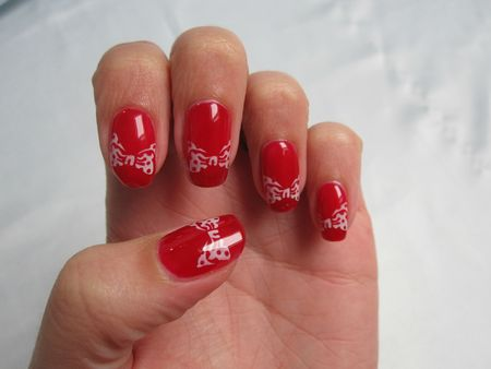 nail art minnie mouse (1)