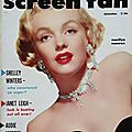 Screen fan (Usa) 1952