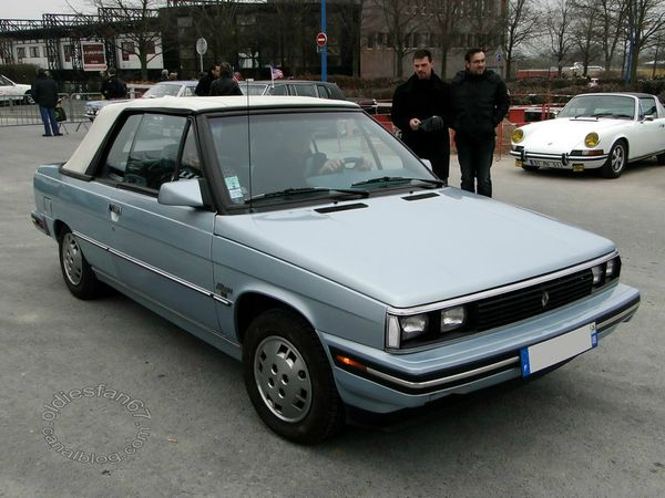 renault alliance cabriolet 1985 1987 3