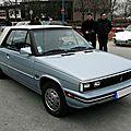 Renault alliance 1.7 l cabriolet, 1985 à 1987