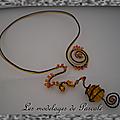 Collier couleur d'automne