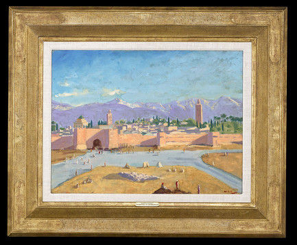 "The Tower of Katoubia Mosque"" by Winston Churchill @ MS RAU Antiques -  Alain.R.Truong"