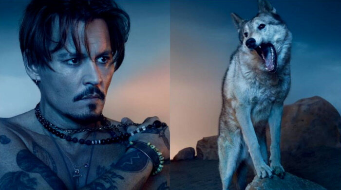 Johnny Depp illustre « Sauvage » de chez Dior !