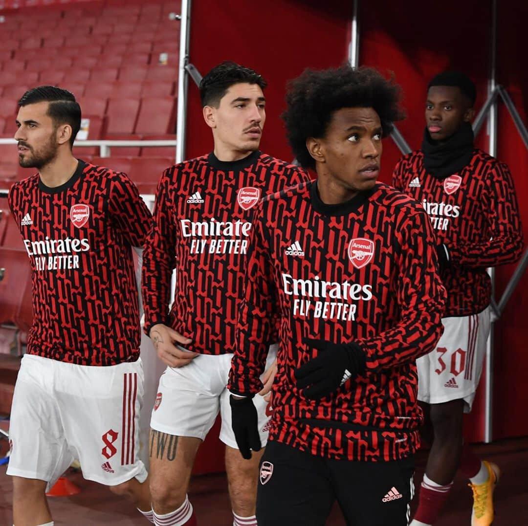 Arsenal a dévoiler un second maillot pré-match !