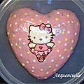 Gâteau Hello kitty danseuse rose